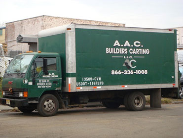 AAC Builders Carting fleet
